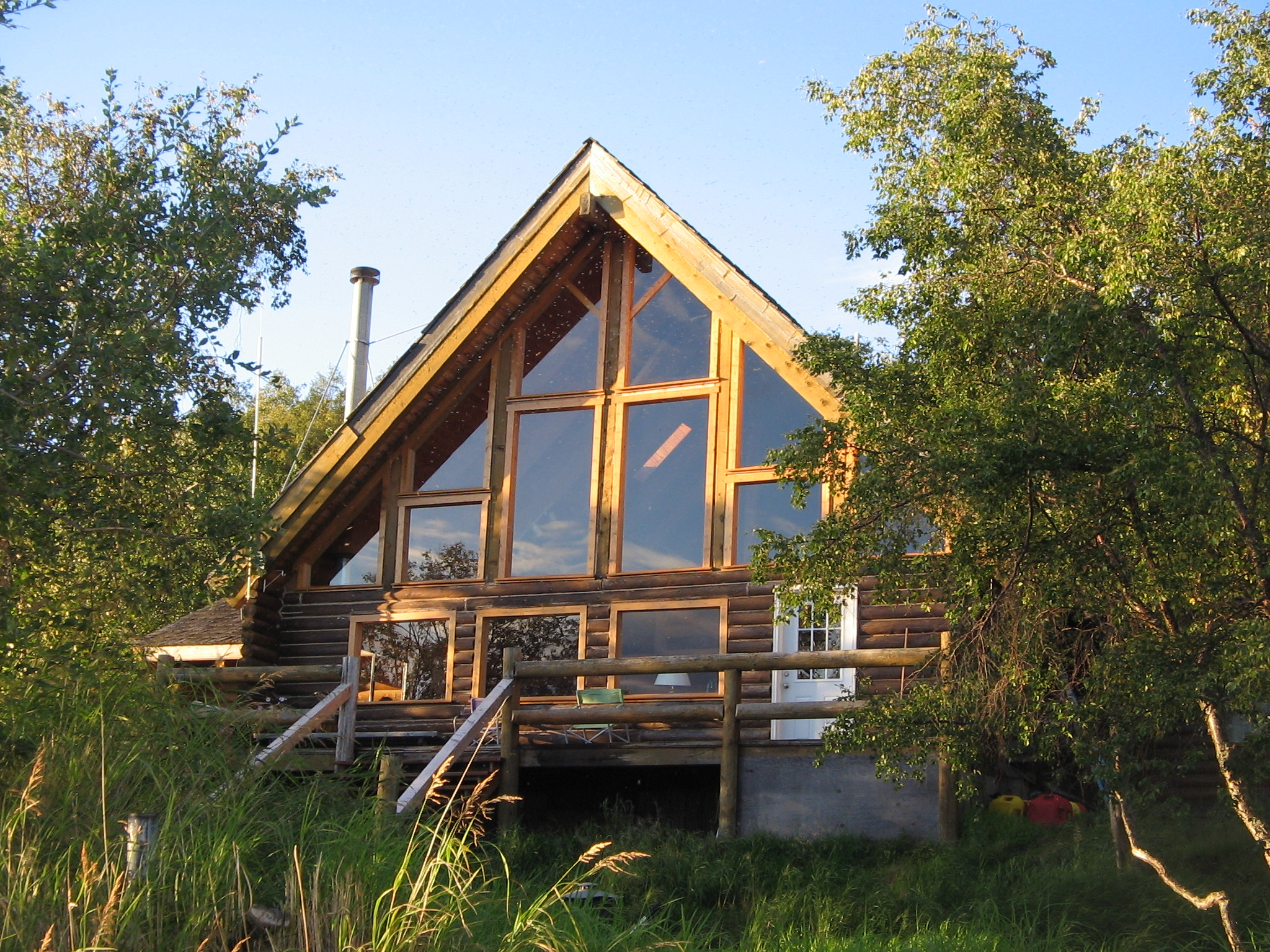 Alaska Fishing Adventures cabin